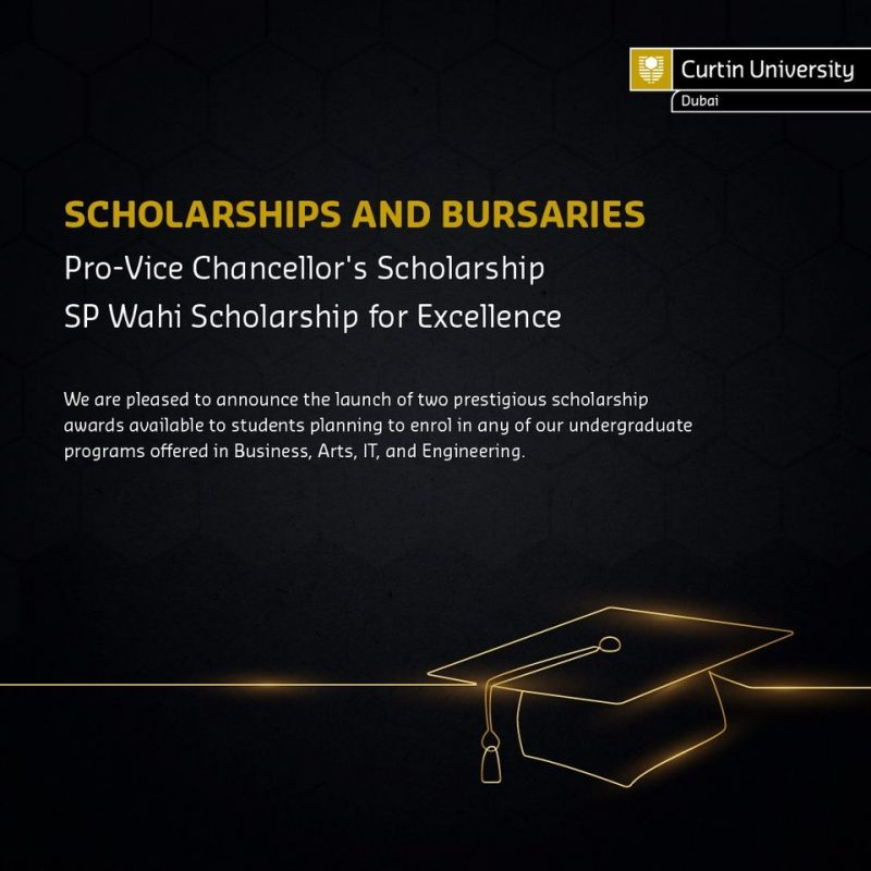 Curtin Dubai Scholarship Offers